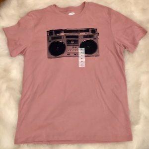Pink Boom Box T-Shirt Unisex